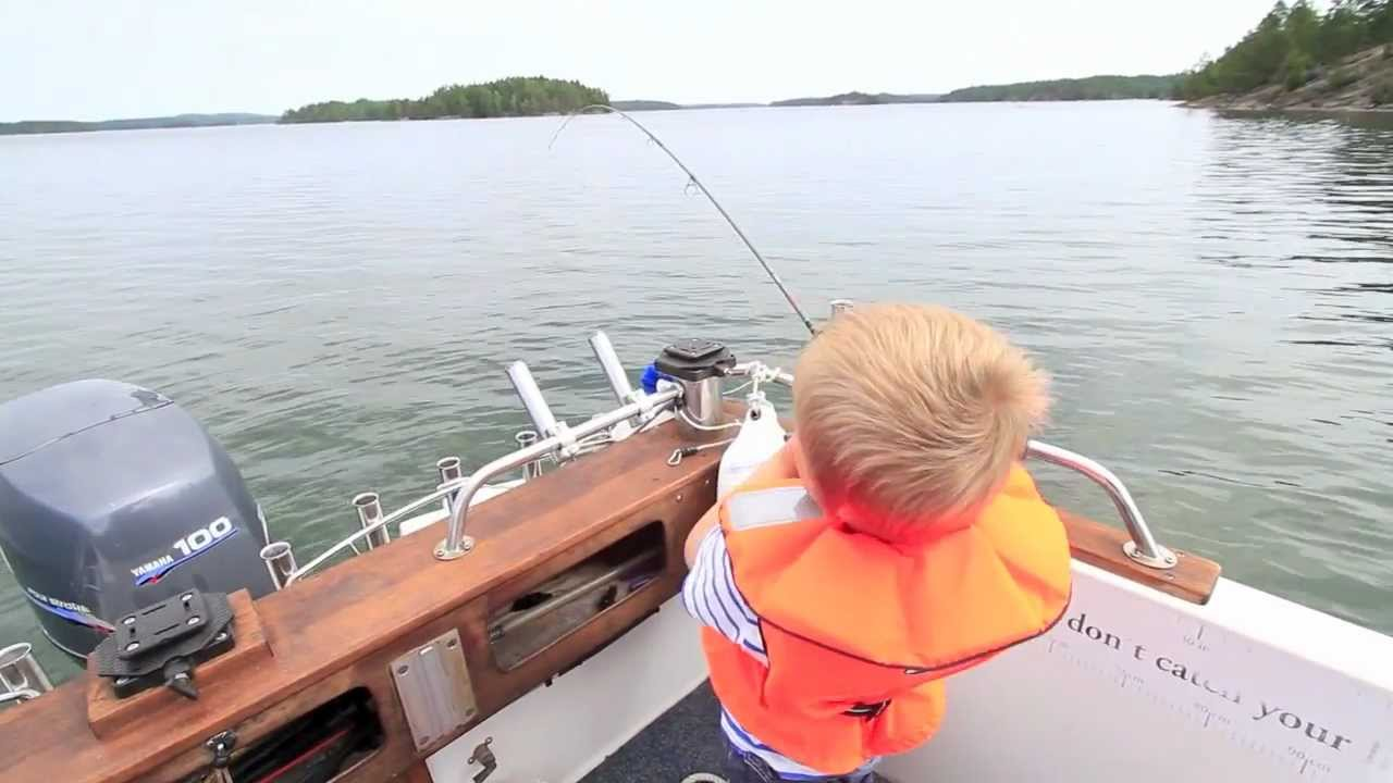 Fiska med barn